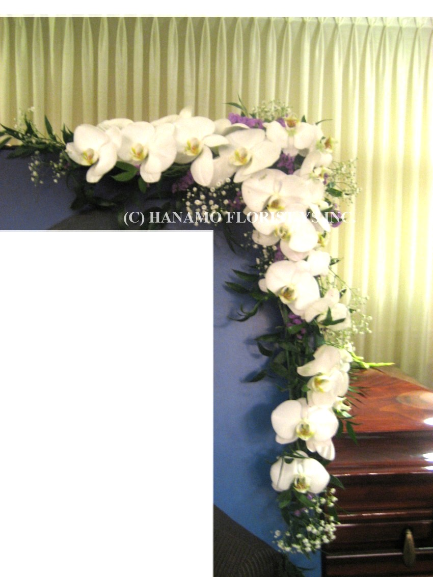 PICF001 Picture Frame Flowers (one corner)